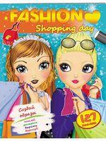 FASHION Shopping day (мягкая обложка, 64 страницы + 4 листа с наклейками)