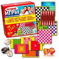 Кращі ігри для всієї родини 12 в 1