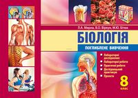 Біологія: лабораторні дослідження, лабораторні роботи, практичні роботи, дослідницький практикум, проекти: 8 клас. Поглиблене вивчення