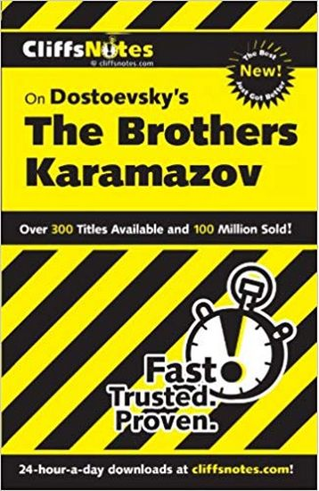CliffsNotes+on+Dostoevsky%27s+The+Brothers+Karamazov%2C+Revised+Edition+%28CLIFFSNOTES+LITERATURE%29 - фото 1