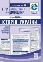 Інтерактивний довідник. Історія України 6-11класи