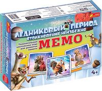 Настільна гра Мемо. Льодовиковий період