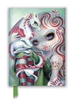 Jasmine Becket-Griffith: Peppermint Dragonling (Foiled Journal)