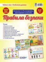 Наочні посібники. Правила безпеки під час канікул. Комплект із 4-х плакатів для початкової школи.