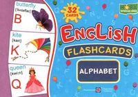 Комплект флеш-карток з англійської мови. Алфавіт