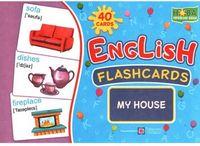 Комплект флеш-карток з англійської мови. Мій будинок/My House