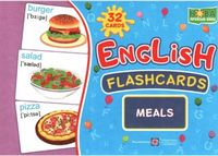 Комплект флеш-карток з англійської мови. Їжа/Meals