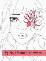 Книга#girls#fashion#flowers