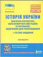 ЗНО 2020 Історія України Пам'ятки архітектури та образотворчого мистецтва