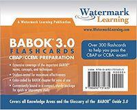 BABOK 3.0 Flashcards