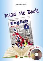 Книга для читання до НМК English  - 6+аудіо CD