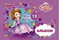 Альбом для малювання ЛІЦ (скоба, 12арк)Серія Софія в мріяхЦ631016У