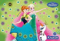 Альбом для малювання ЛІЦ (скоба, 20арк)Серія Frozen Чаклунство Эльзи