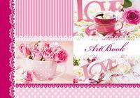 Альбом для малювання (пруж. 30арк) Серія Трояндова ніжністьЦ260034У