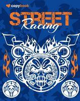 Блокнот для нотаток ф.В5, бок. пружина, 40 арк. офсет, клітинка Серія Street Racing one Ц355034У