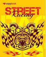 Блокнот для нотаток ф.В5, бок. пружина, 40 арк. офсет, клітинка Серія Street Racing three Ц355034У