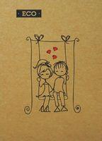 Блокноти А6 ЕКО Серія Кохання
