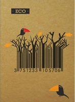 Блокноти А6 ЕКО Серія Штрих код