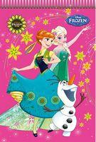 Блокнот для нотаток Серія Frozen Чаклунство Эльзи