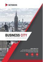 Зошит А4  клітинка, Серія Бізнесмісто  НьюЙорк