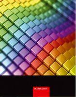 Зошит офісний Серія Colors3  Веселкові куби