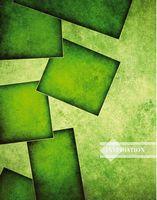 Зошит офісний лінія Серія Colors3  Зелена абстракція