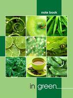 Зошит офісний Зелений колір в житті