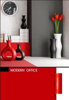 Зошит студентський Блокнот для нотаток ф.А5, бок. пружина, 50 арк. офсет, клітинкаСерія Modern office  red