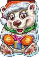 Пустотливий Новий Рік Белый медведь (р)