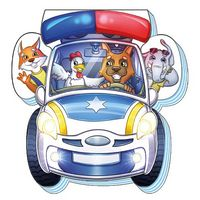 На дорозі Полицейская машина (р)