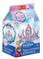Корона в кристалах Фрозен
