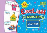 Clothes Одяг. Комплект флеш-карток з англійської мови