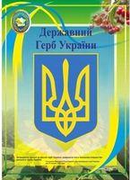Державний Герб України. Плакат. Серія «ДСУ»