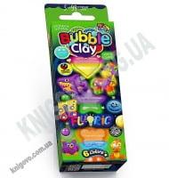 Кульковий пластилін Bubble Clay Fluoric 6 кольорів BBC-FL-6-01 Вид: Danko Toys