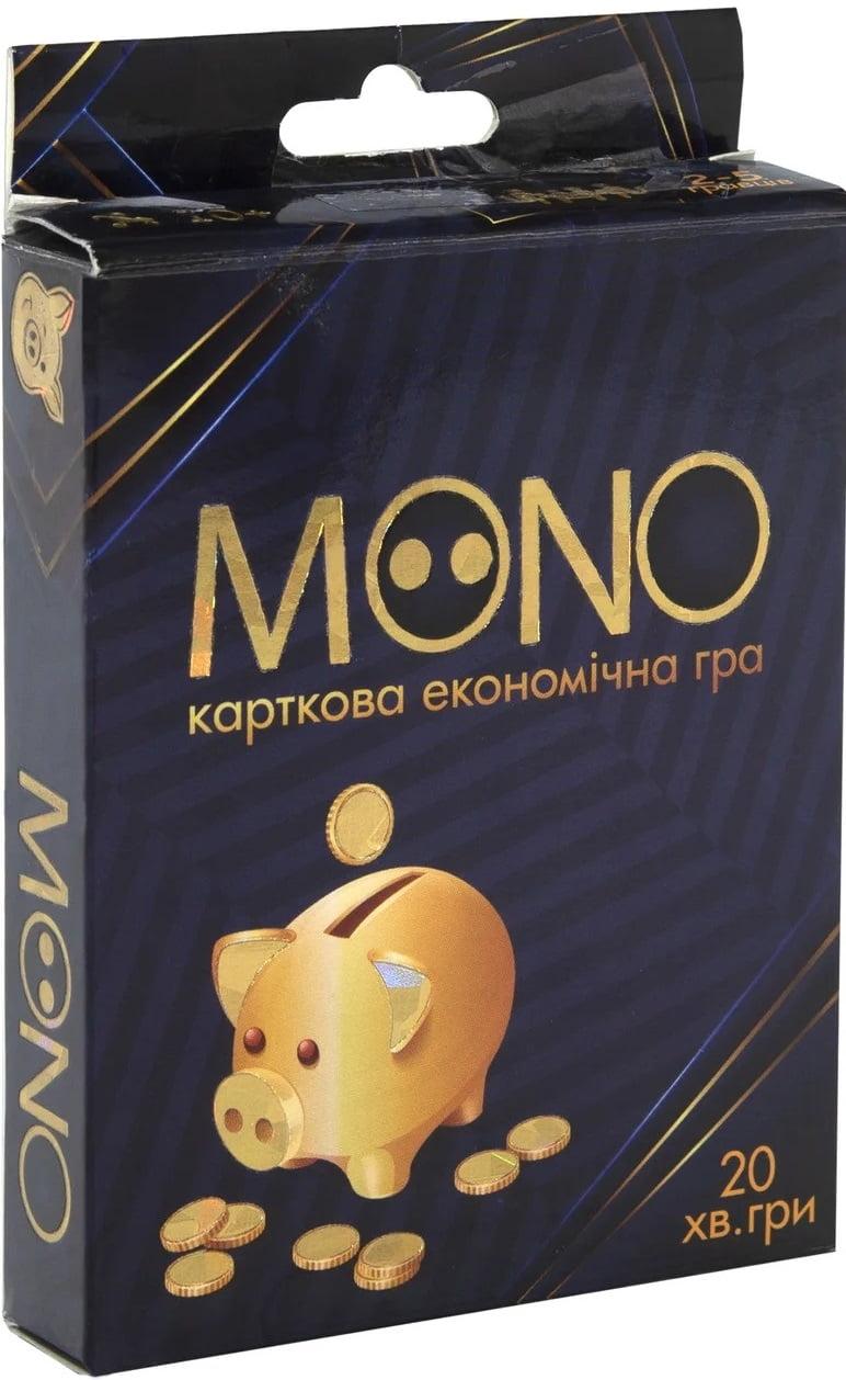 Настільна карткова гра  MONO (Монополія)