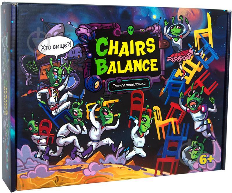 Настільна гра Chairs balance
