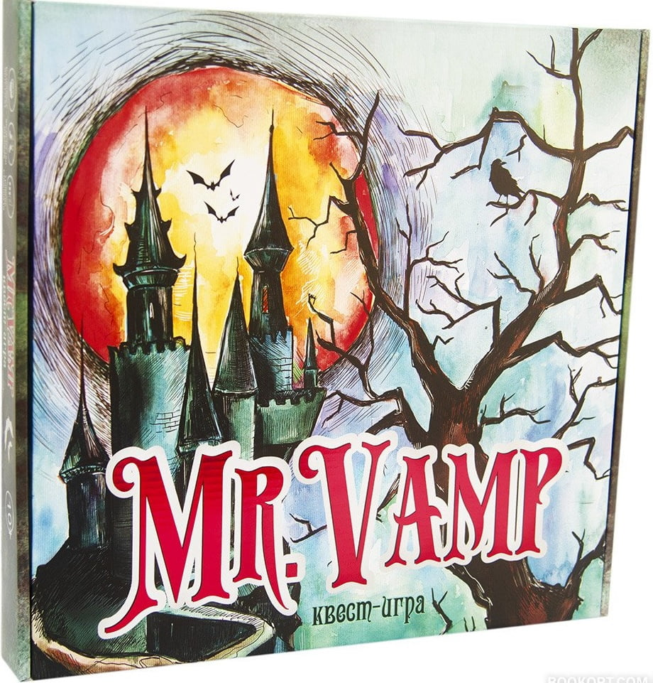 Настільна гра-квест Mr. Vamp