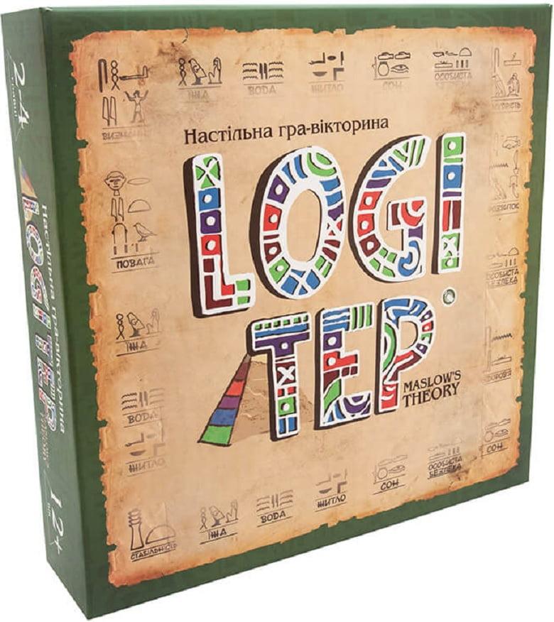 Настільна розважальна гра-вікторина Logi ter
