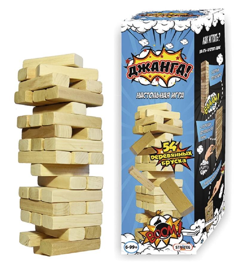 Настільна гра Джанга, 54 бруска