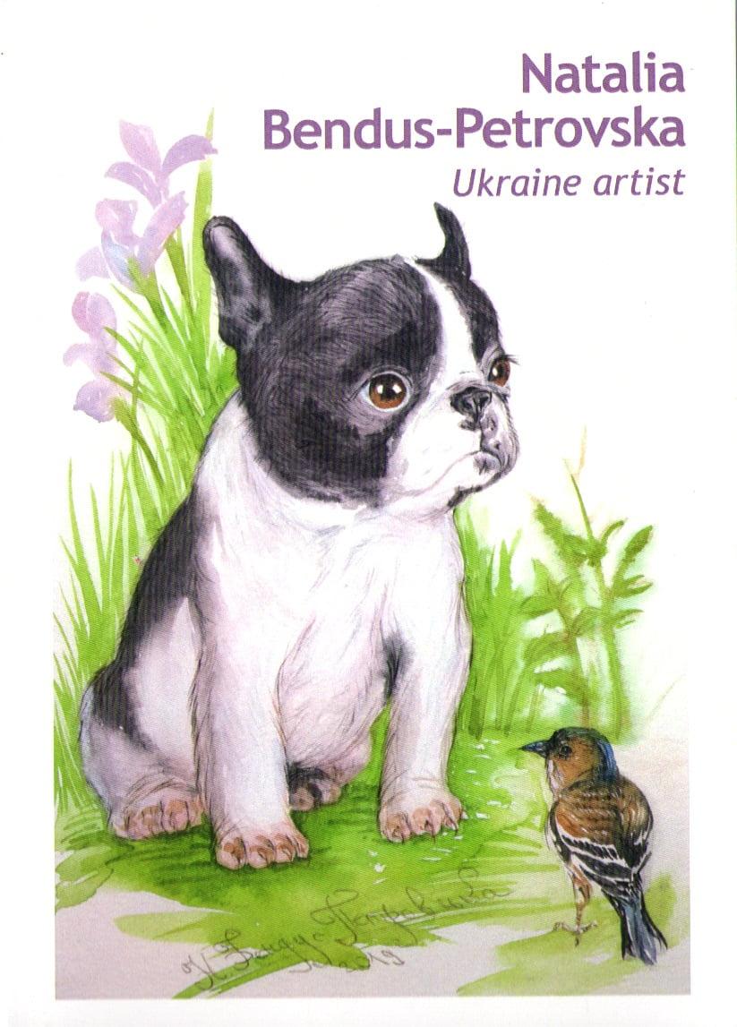 Набір листівок The Dogs