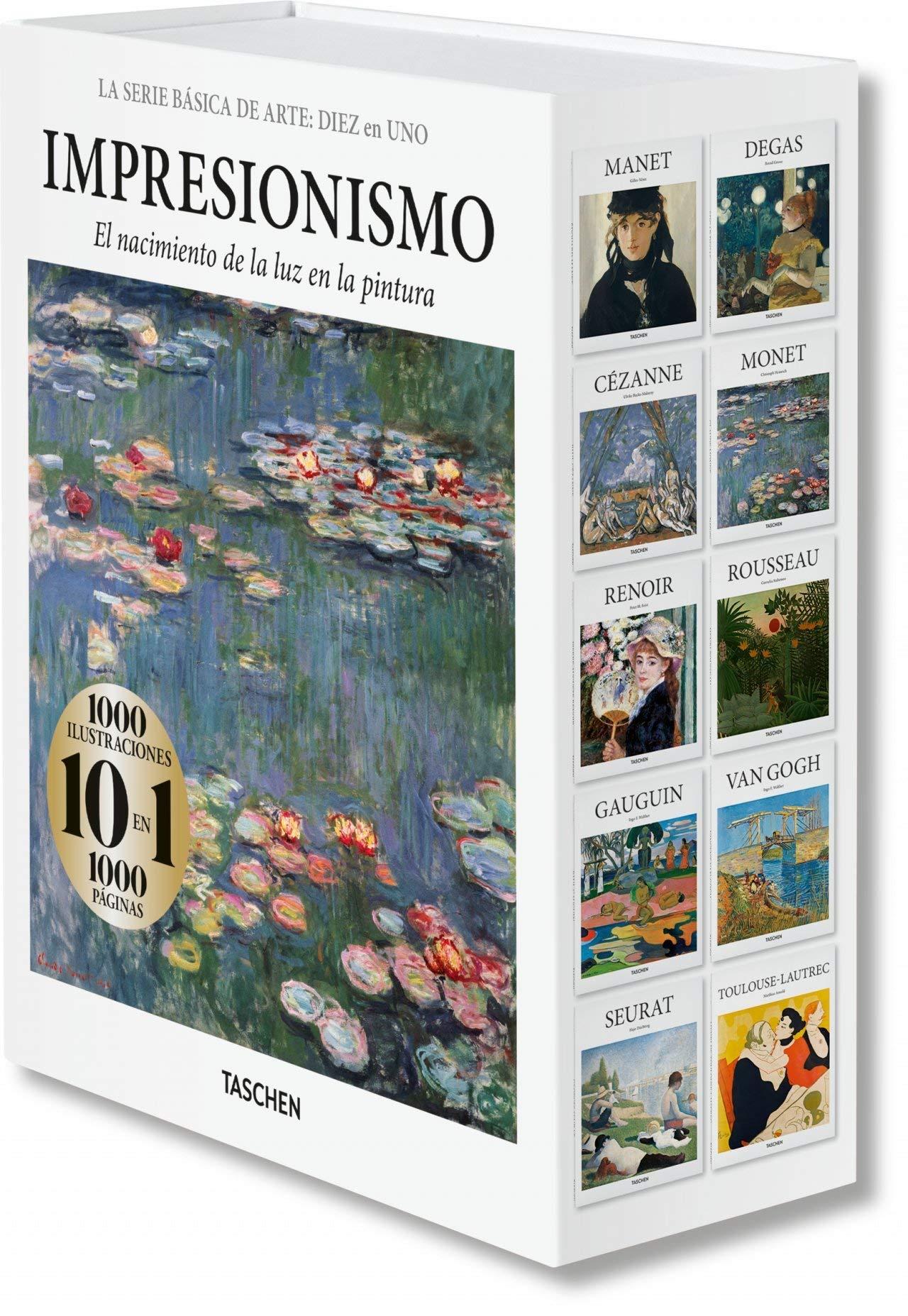 Basic Art Series: TEN in ONE. Impressionism (Basic Art Series 10 in 1)