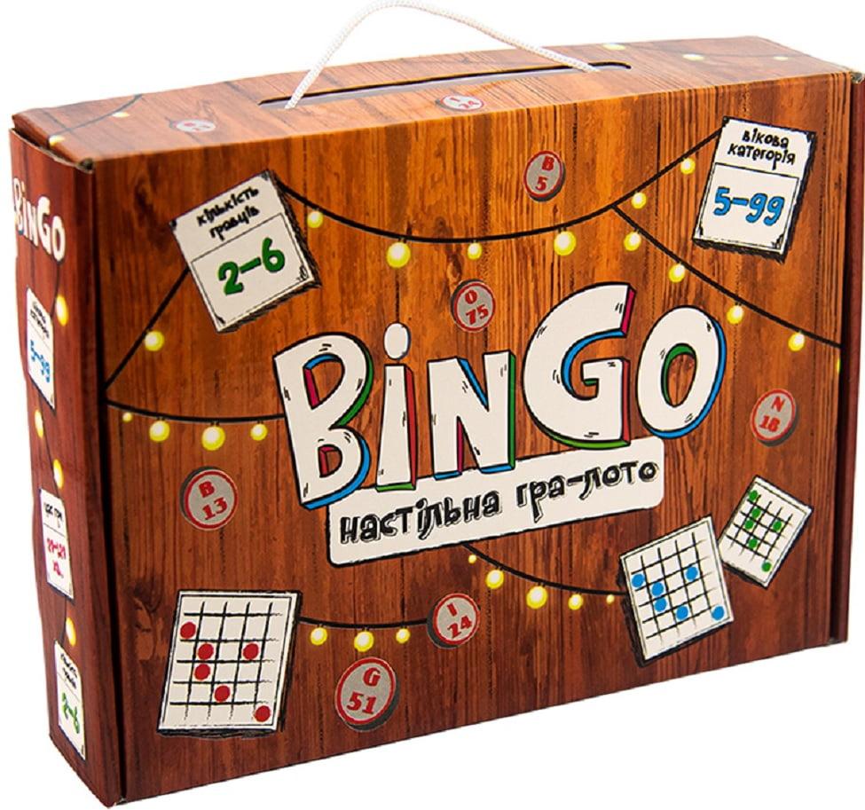 BinGo Настільна гра-лото