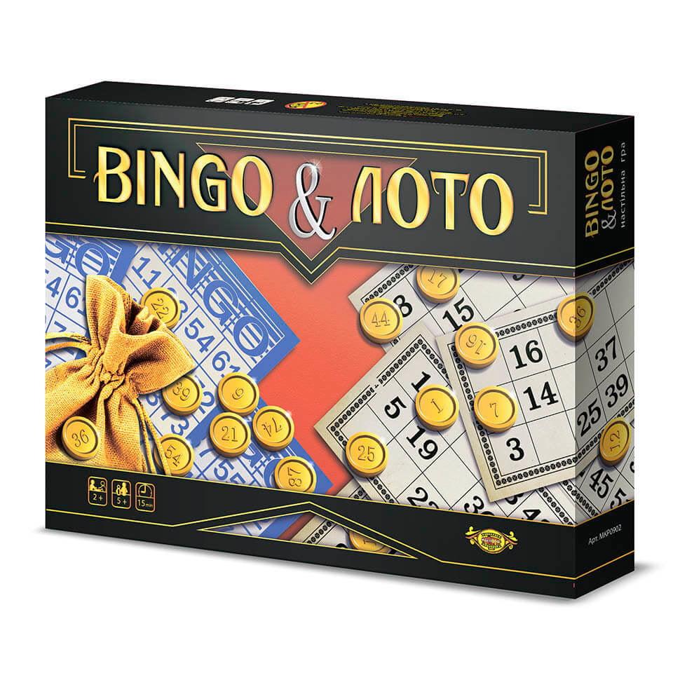 Игра настольная Bingo & Лото