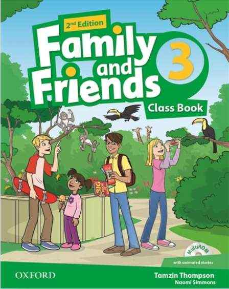 Підручник Family and Friends 3 Class Book Naomi Simmons Oxford University Press