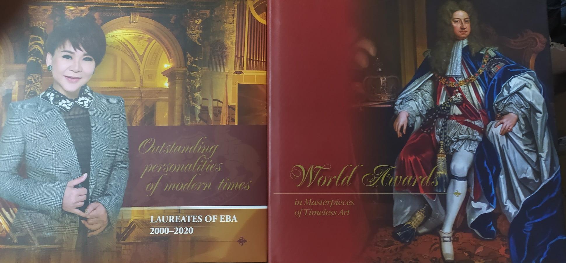 World Awards in Masterpieces of Timeless Art. Outstanding personalities of modern times Laureates of EBA 2000-2020 (комплект из 2х книг)
