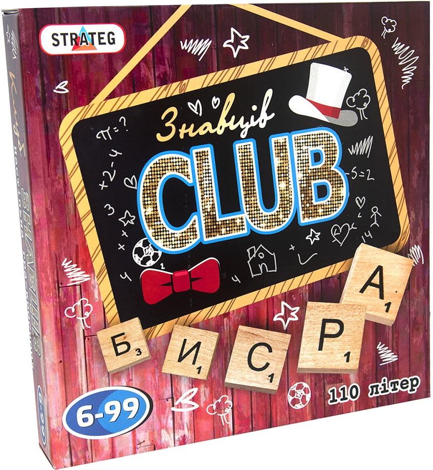 Гра настільна Знавців CLUB. Ерудит