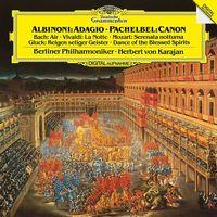 ALBINONI, VIVALDI, BACH, PACHELBEL, GLUCK, MOZART (Berliner Philharmoniker, Herbert von Karajan) (1984) (180g hevyweight vinyl pressing) (LP)