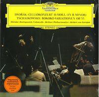 CELLOKONZERT H-MOLL / ROKOKO-VARIATIONEN (M.Rostropovich, Berliner Philharmoniker, Herbert von Karayan) (1969) (180gr vinyl) (LP)