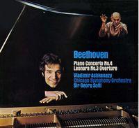 Piano Concerto No.4,  Leonora No.3 Overture (1973) (V.Ashkenazy, Chicago Symph. Orchestra /George Solti) (LP)