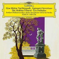 Eine kleine Nachtmusik, Egmont-Overture, Die Moldau(Vltava), Les Preludes (Berliner Philharmoniker / Ferenc Fricsay) (1958)
